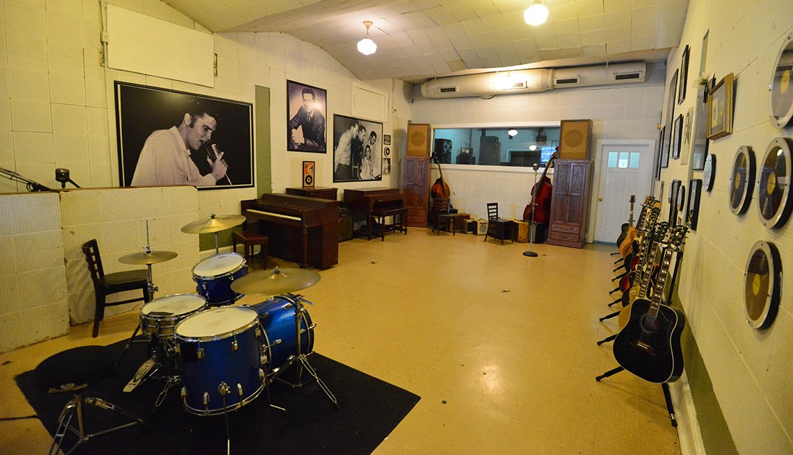 Music Studio, RCA Studio B, Nashville, Tennessee, U.S. Cities for History Buffs