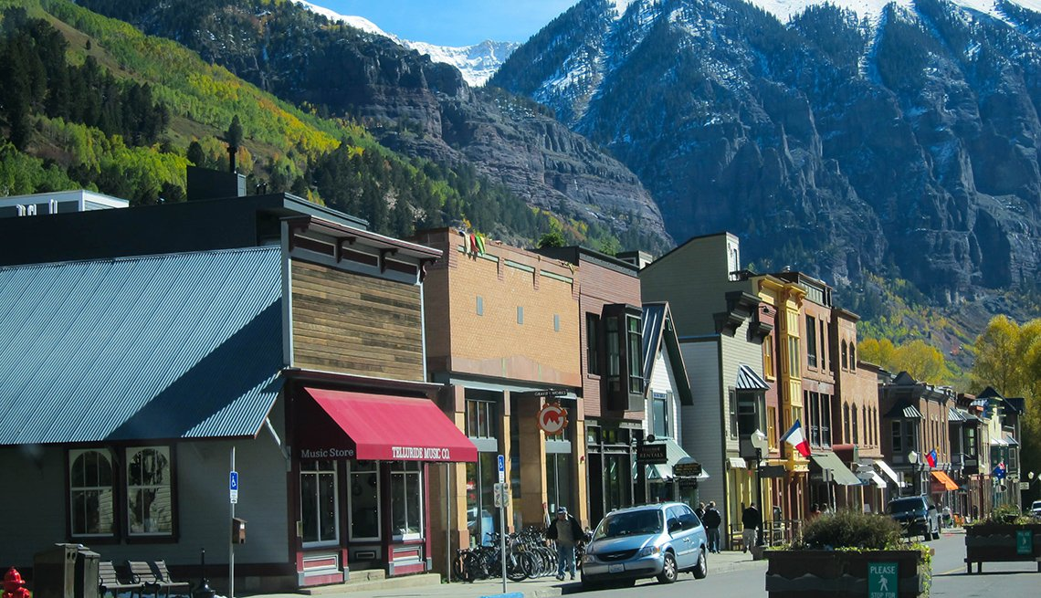 Main Street In Telluride Colorado, Best Small Towns In America