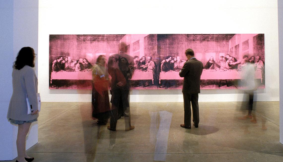 Visitors Blur, The Last Supper, Warhol Museum, Heartland Getaways