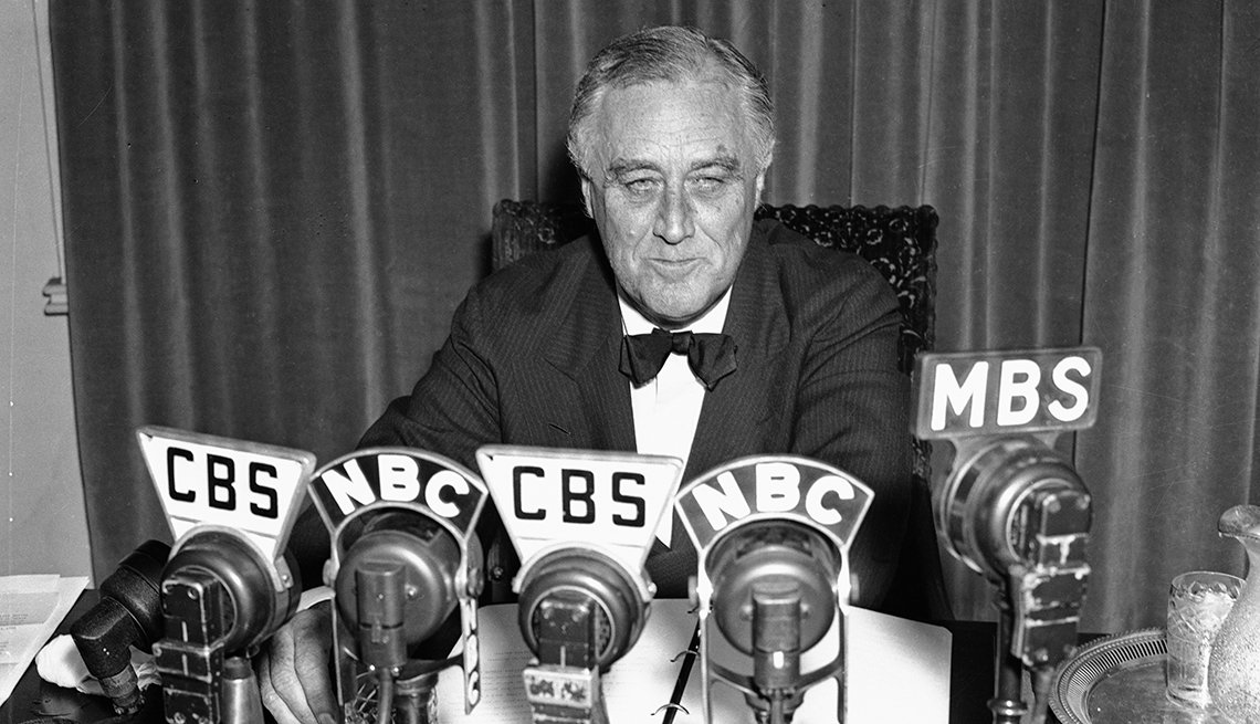 President Franklin D. Roosevelt Addresses The Nation Via Radio, Presidential Libraries