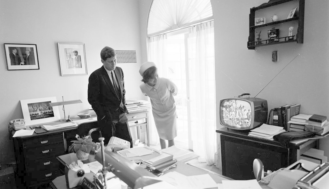 President John F. Kennedy And First Lady Jacqueline Bouvier Kennedy, Presidential Libraries