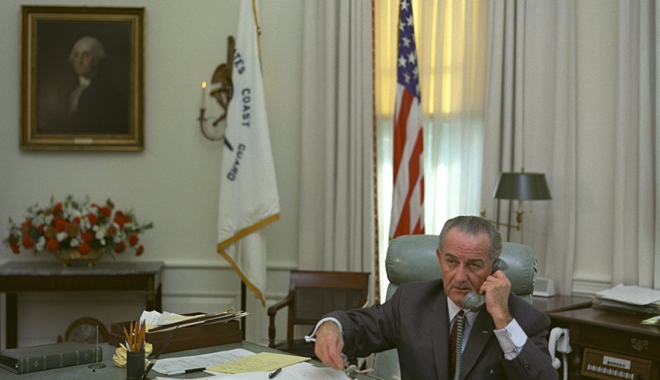 president lyndon b johnson at the oval office during his presidency presidential libraries