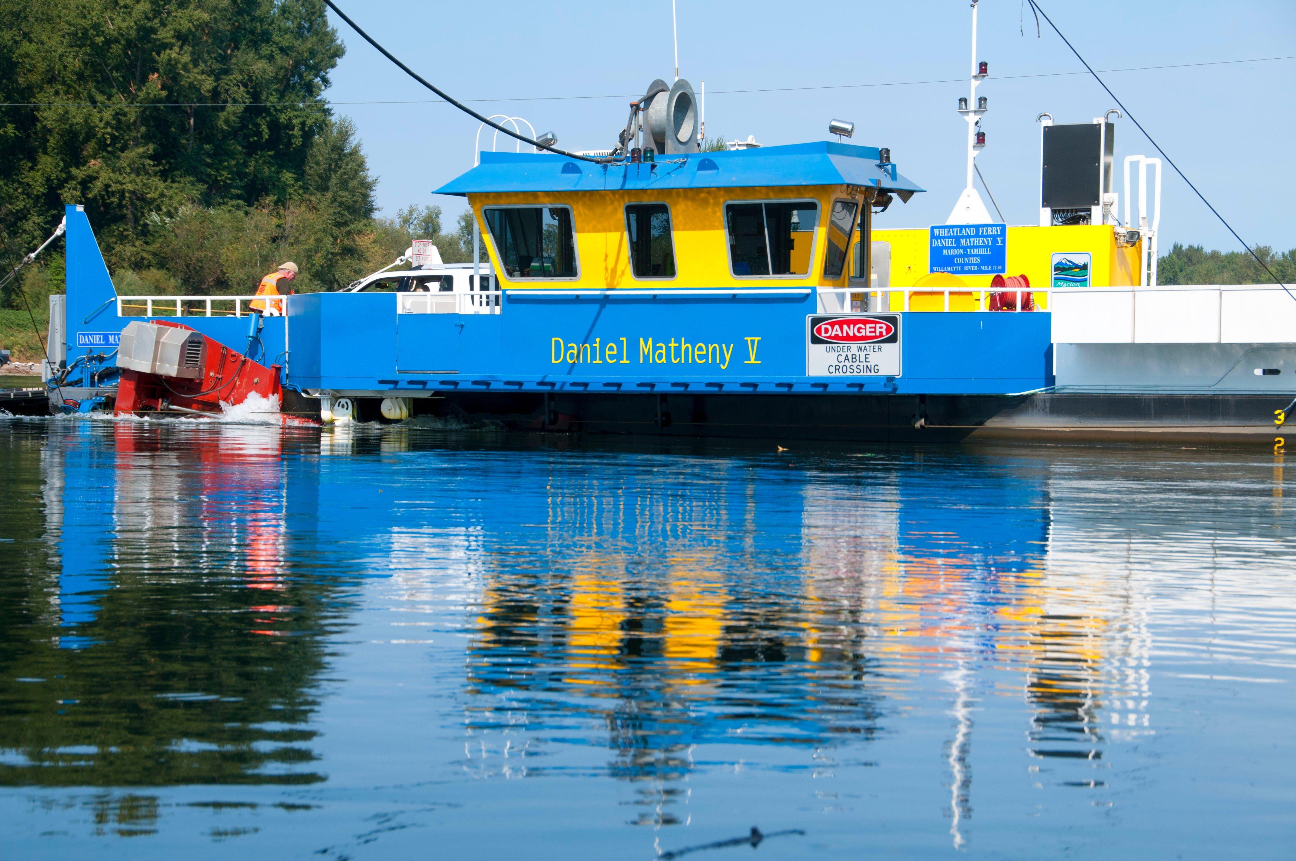 Ferry Wheatland.