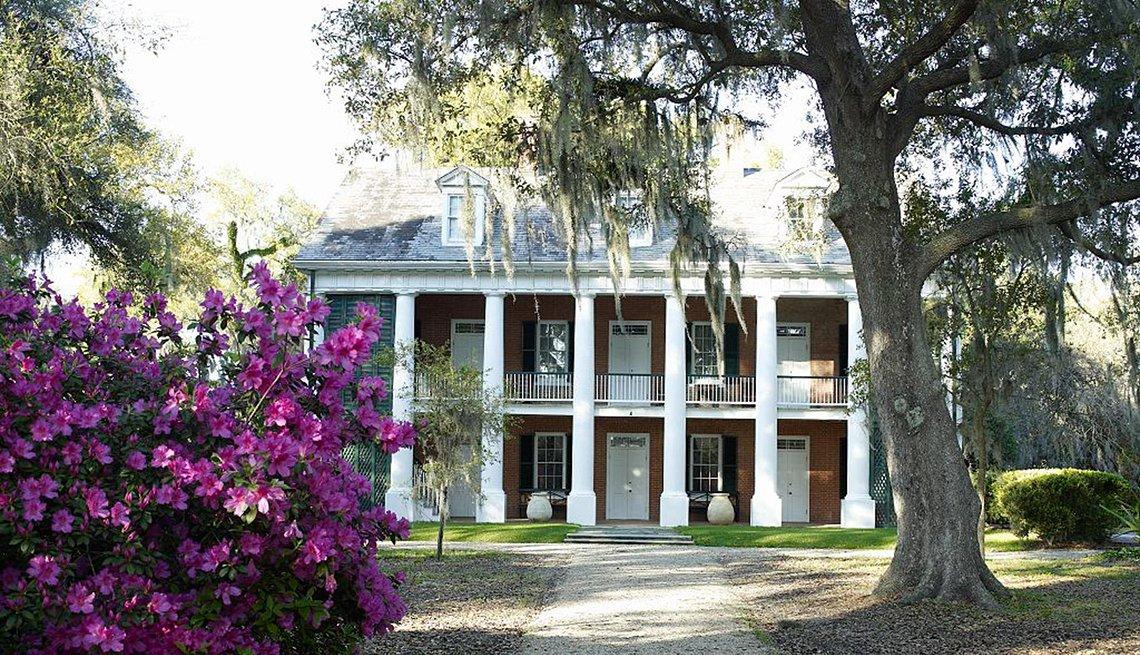 Casa de Shadows on the Teche, Luisiana.