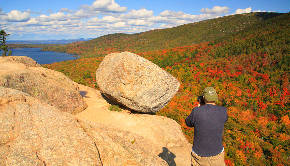 item 1 of Gallery image - Bubble Rock, Acadia National Park
