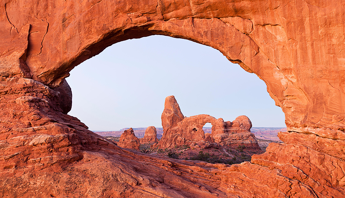 item 5 of Gallery image - Classic view of Turret Arch in Arches National Park