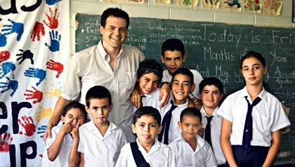 Estudiantes en Costa Rica