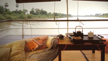 river journeys barge on the mekong