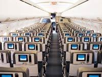 Avión fotografiado desde su interior