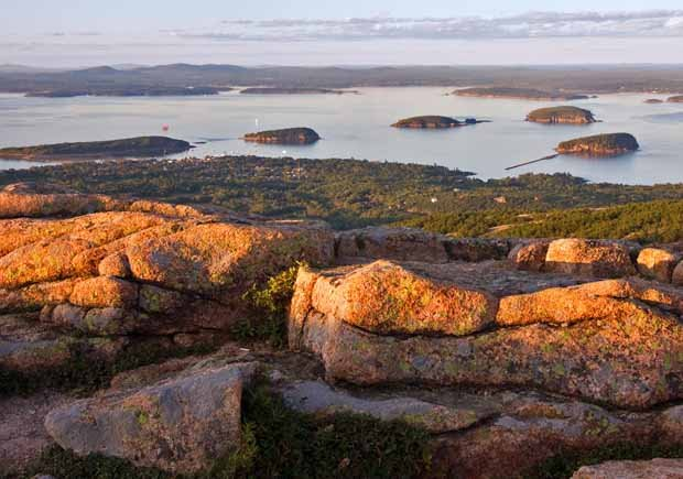 Parques con increíbles senderos para caminar - Acadia