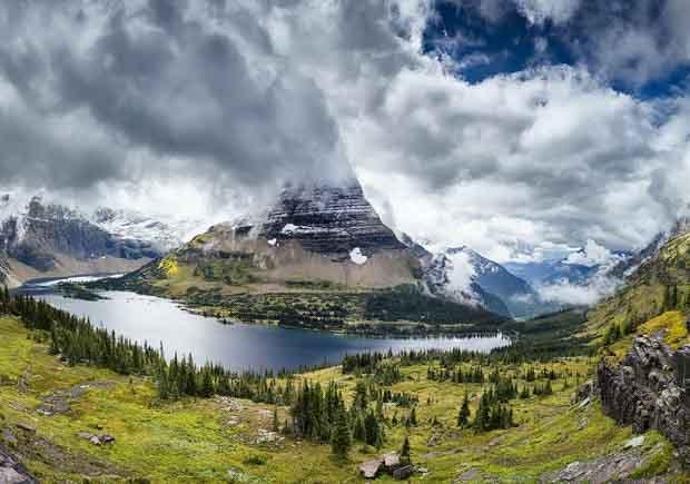 Parques con increíbles senderos para caminar - Glacial
