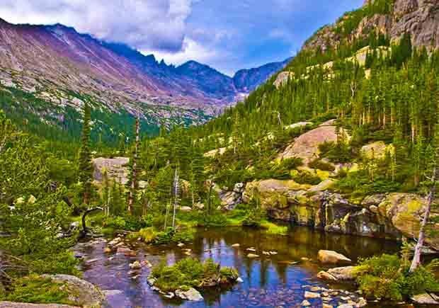 Parques con increíbles senderos para caminar - Rocky Mountain National Park, Colorado