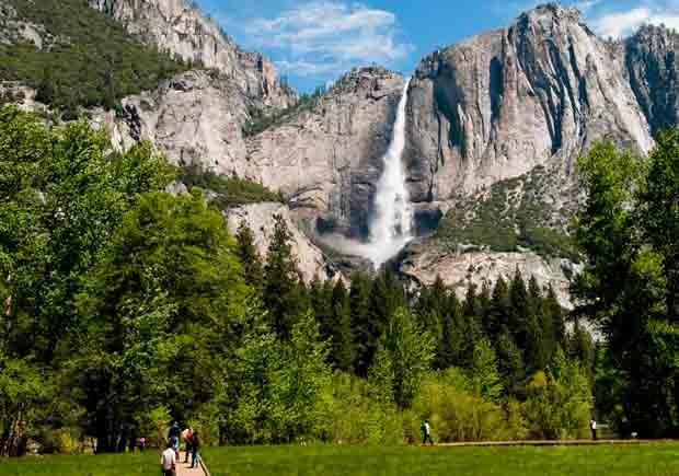 Parques con increíbles senderos para caminar - Yosemite