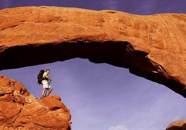 Parques con increíbles senderos para caminar - Arches National Park, Utah