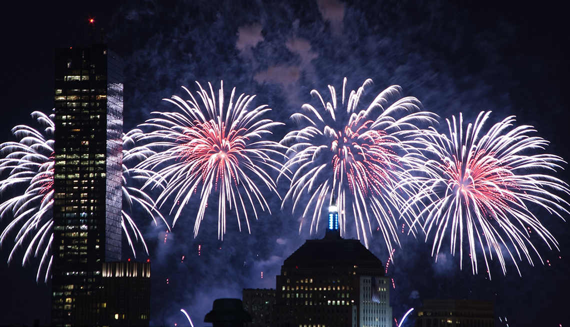 Fireworks, fourth, of, july, boston