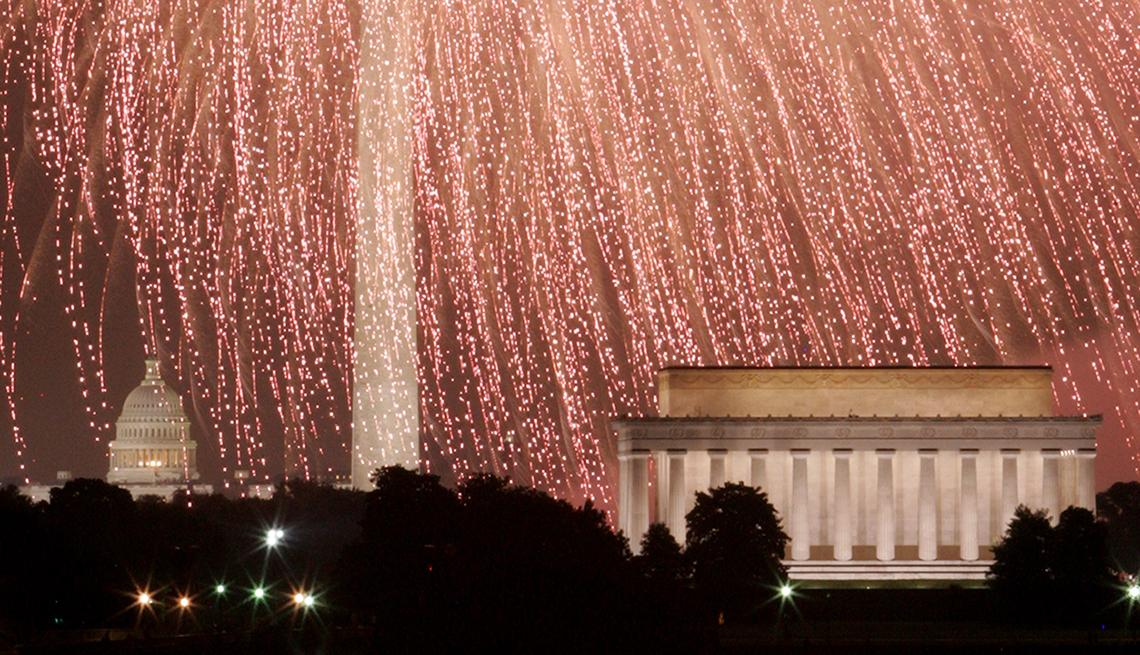 Ciudades donde festejar el 4 de Julio - Washington DC