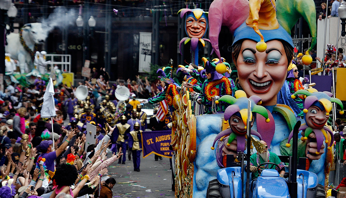 Rex Parade, Mardi Gras, Free and Inexpensive Attractions in America