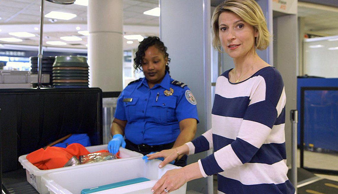 Airport Security Checkpoint, Meet Samantha Brown