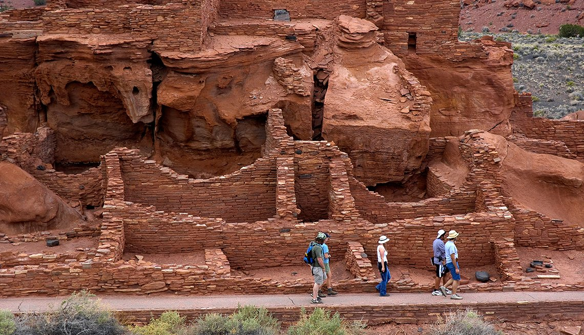 Wupatki National Monument, Anazasi Ruins, Flagstaff, Arizona, Great Places for a Multigenerational Vacation
