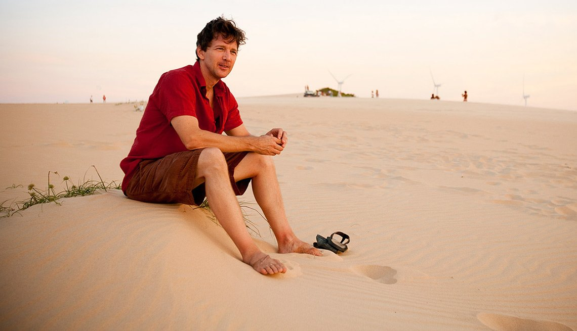 Andrew McCarthy, Sand Dune, The Power of Travel: Where the Best Moments Happen