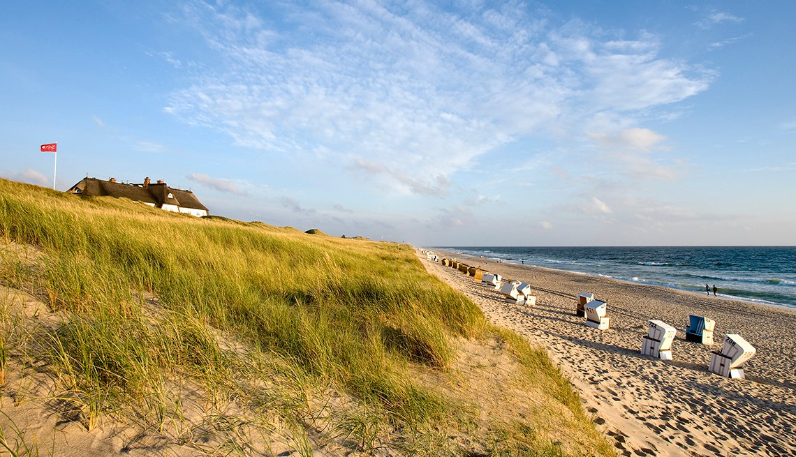 Hotel. Beach, Sylt Island, Germany, Great Places to Go This Summer