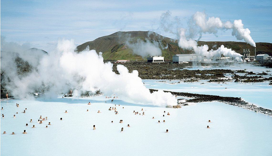 Blue Lagoon Thermal Spa, Iceland, Americans Hot on Iceland