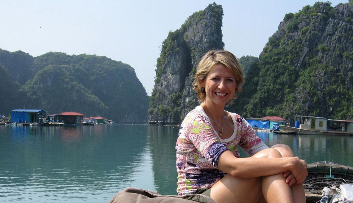 Samantha Brown On A Boat On A Lake, Meet Samantha Brown