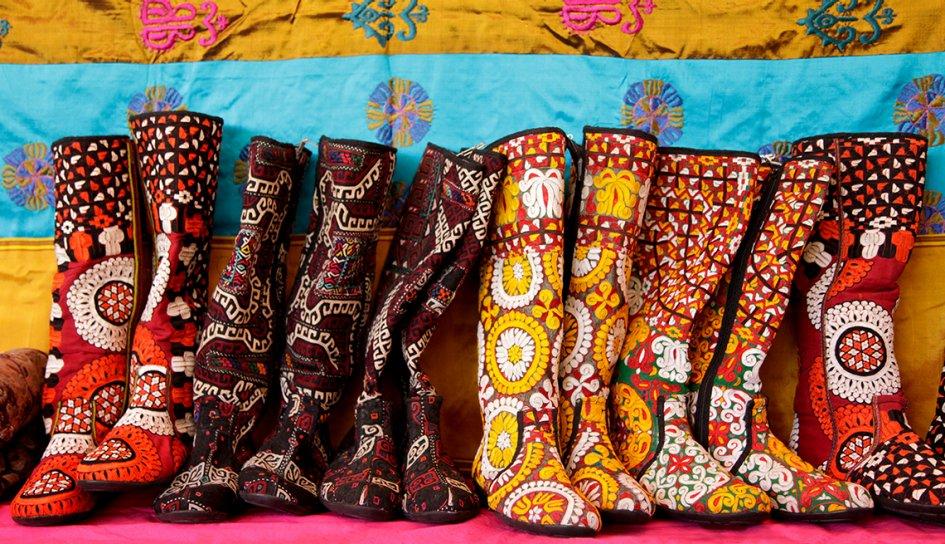Turkmenistan Boots, Folk Art Market, Santa Fe, Great Places To Go This  Summer