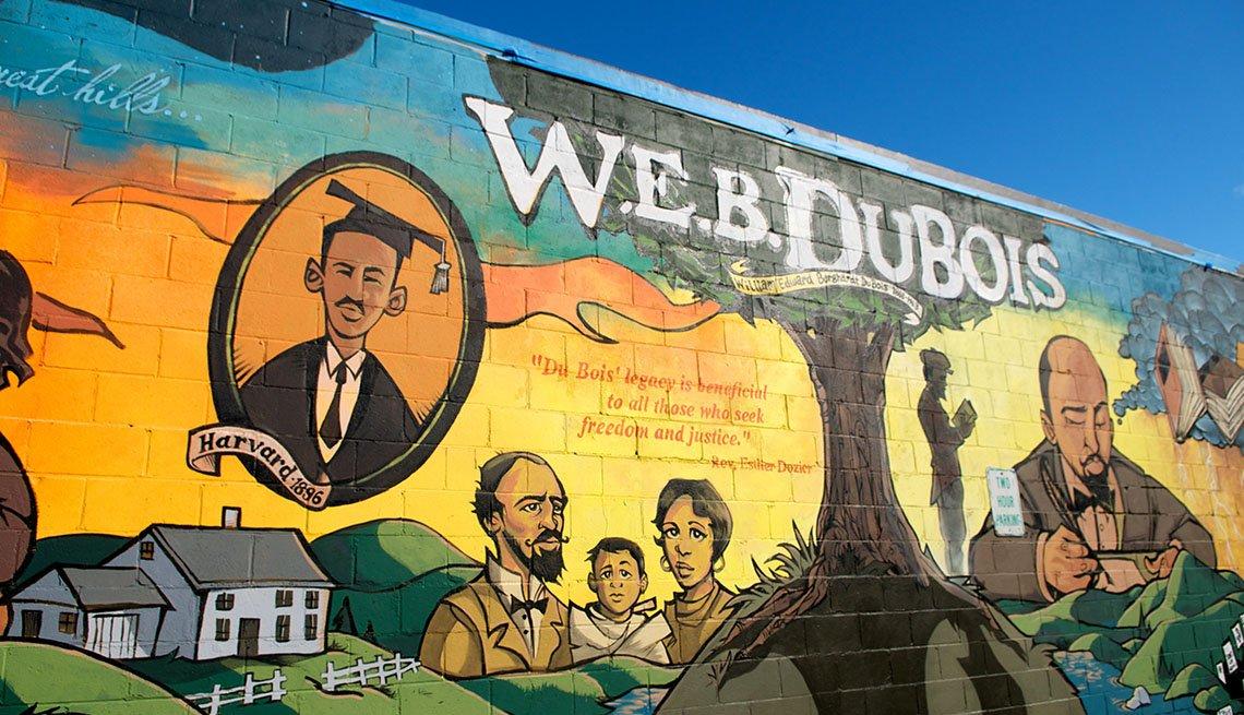 The Mural In Barrington Massachusetts That Honors W.E.B Du Bois, One Tank Road Trips