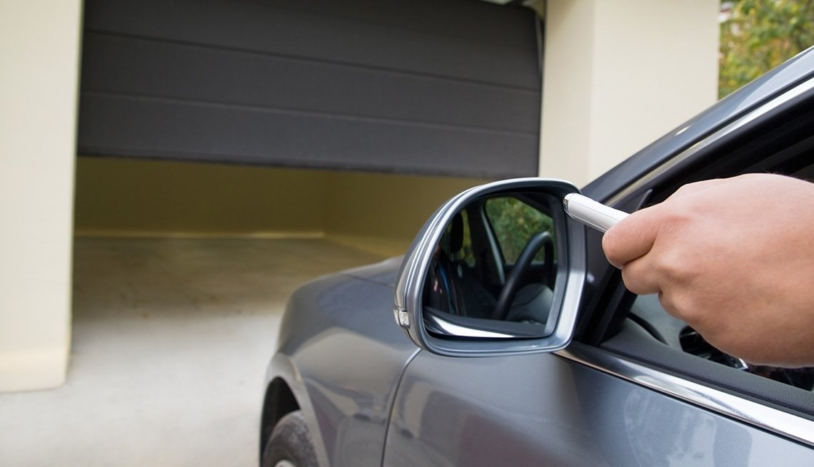 Garage Door Opener, Remote Control, Tips to Keep Your Home Safe While You're Away