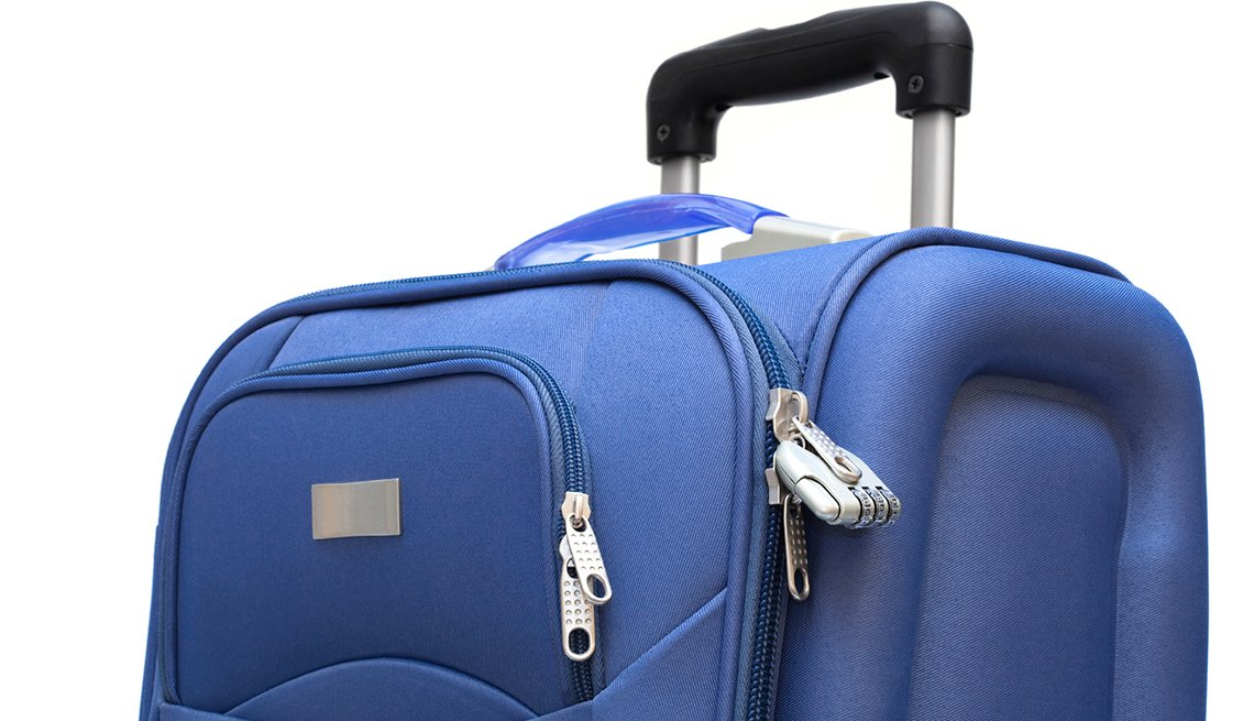 Large Suitcase with Front Pockets, Samantha Brown's Tips for Choosing Luggage
