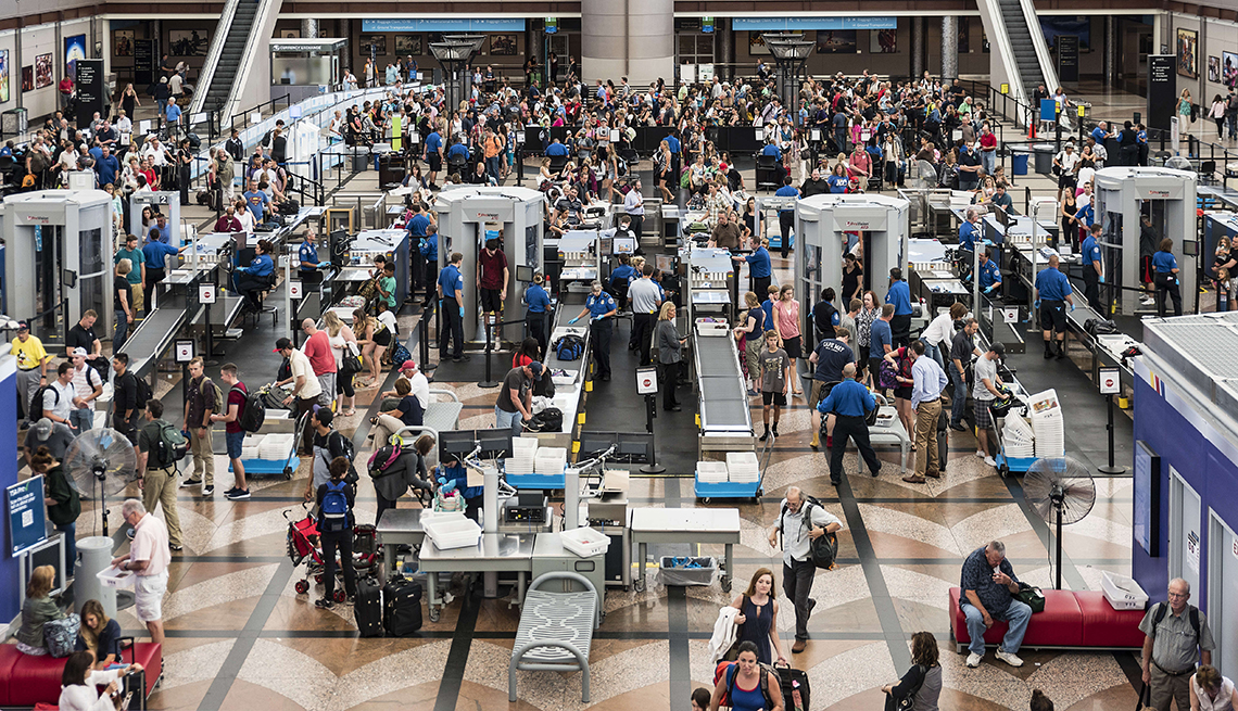 Scanners, Airport Security, Denver. Colorado, Airport Navigation Tips