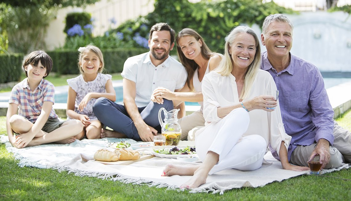 Multi-Generation Caucasian Family Picnic, How to Plan a Stress-Free Multigenerational Vacation