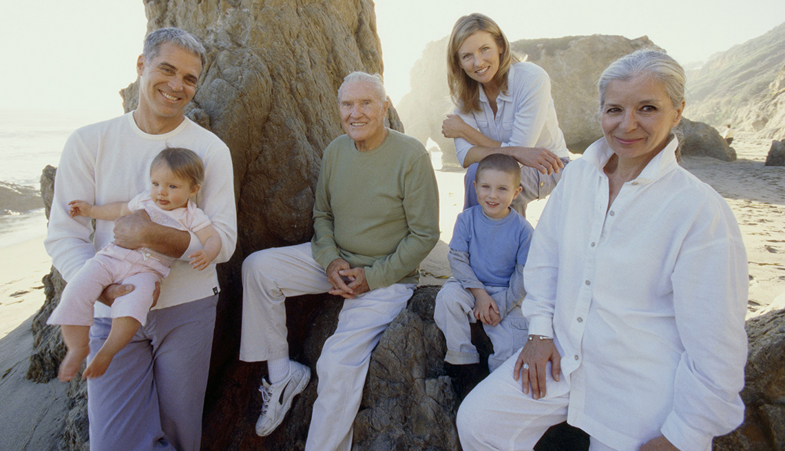Multi-Generation Family, Rocky Beach Shade, How to Plan a Stress-Free Multigenerational Vacation