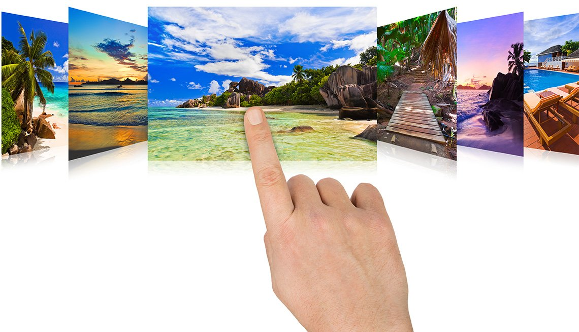 Finger Scrolling, Vacation Photos, Tips to Keep Your Home Safe While You're Away