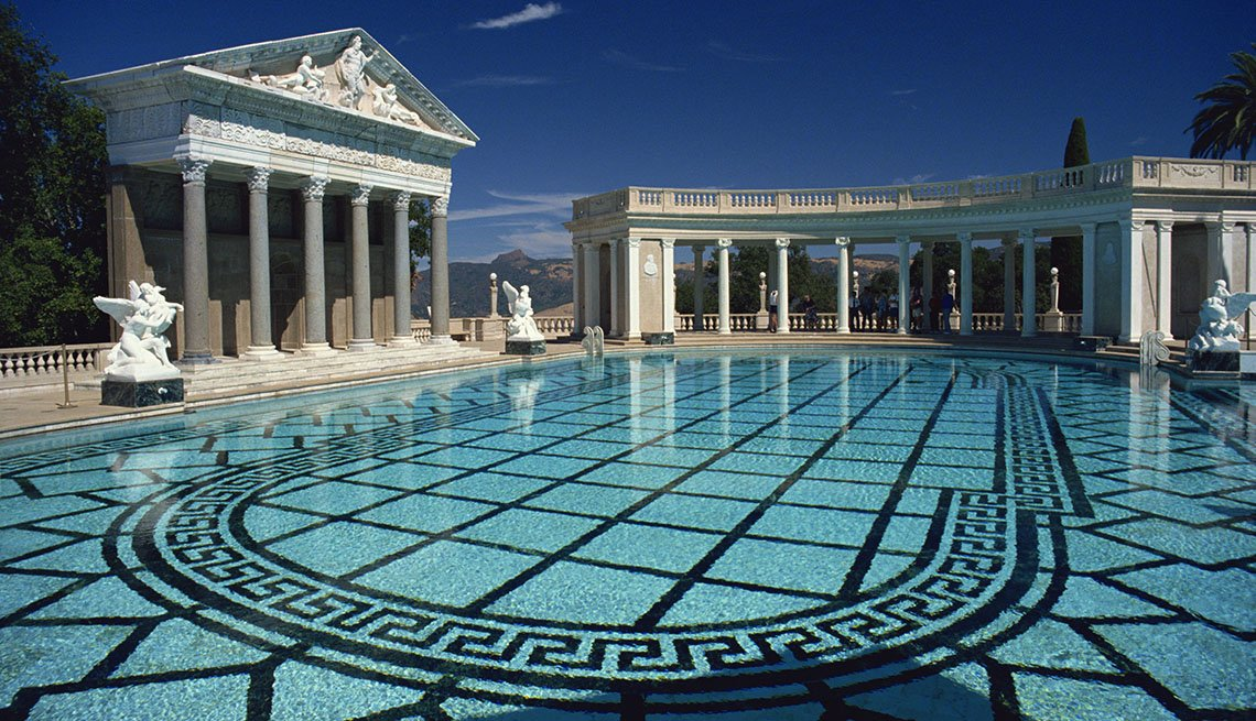 Hearst Castle In California USA, World's Best Castles
