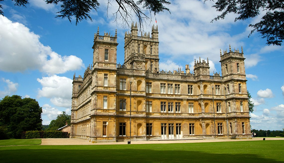 Highclere Castle, England, Romantic Getaways for 2016