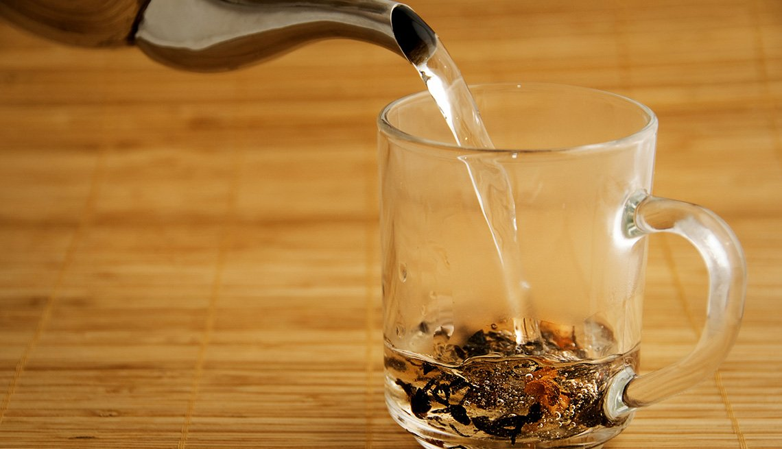 Water Poured From Kettle Into Glass With Tea Leaves, How To Be A Perfect Houseguest