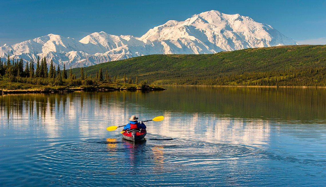 Kayaker, Denali National Park, National Park Fees May Soar