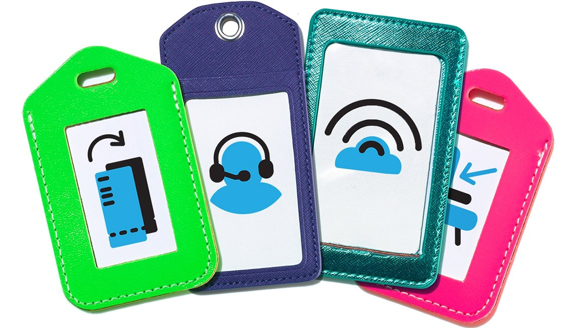 Luggage Tags with Icons, How to Avoid Sneaky Airline Fees