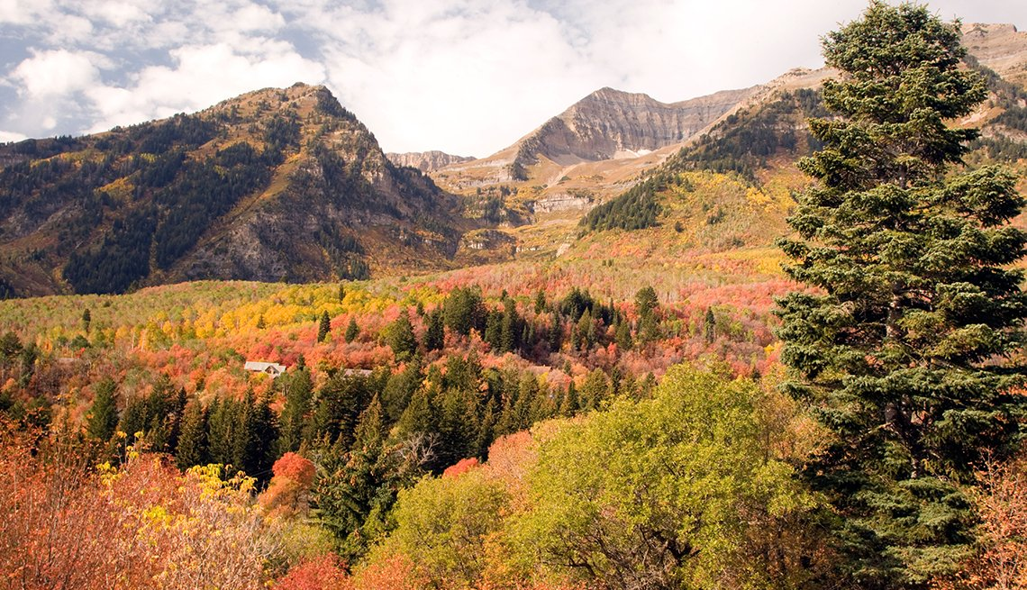 Colorful Autumn Trees, Sundance Mountain Resort, Romantic Getaways for 2016