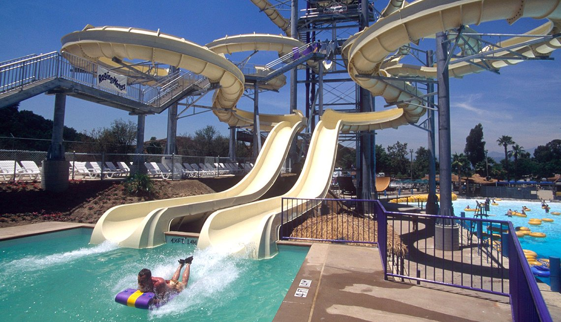Raging Waters, Toboggan Ride, California, Best Water Parks in America