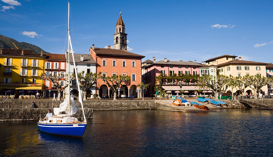 Sailboat, Lake Maggiore, Italy, Romantic Getaways for 2016