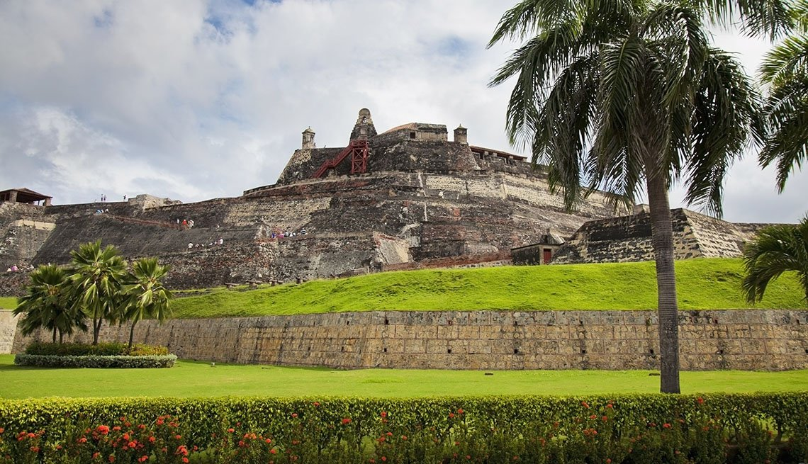 View Of San Felipe Castle In Cartagena Colombia, World's Best Castles