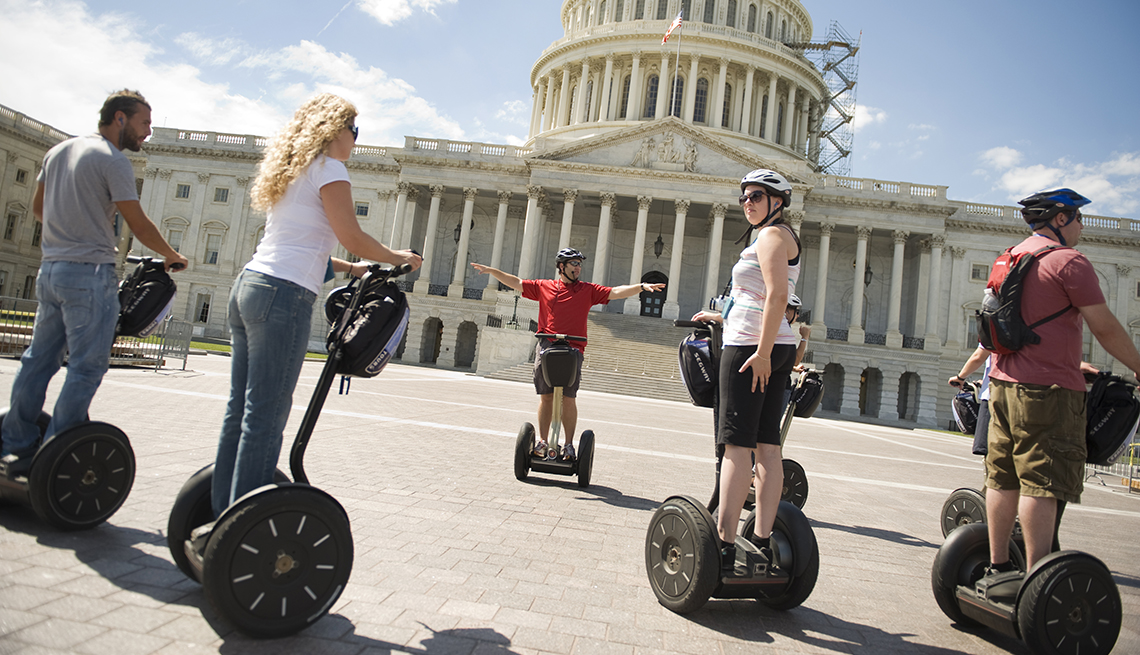 Segway Tour U.S. Capitol, Washington, D.C., Great Places for a Multigenerational Vacation