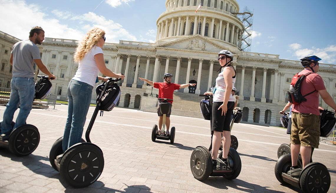 Segway Tour U.S. Capitol, Washington, D.C., Great Places for a Multigenerational Vacation