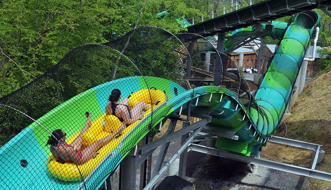 RiverRush Ride, Dollywood, Water Slide, Best Water Parks in America