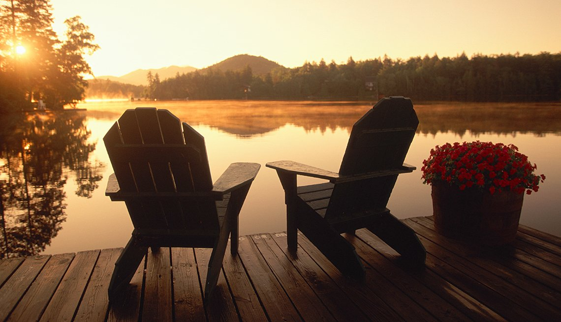 Sunset Lake Placid, New York,  Adirondack Park, Great Places to Go This Summer