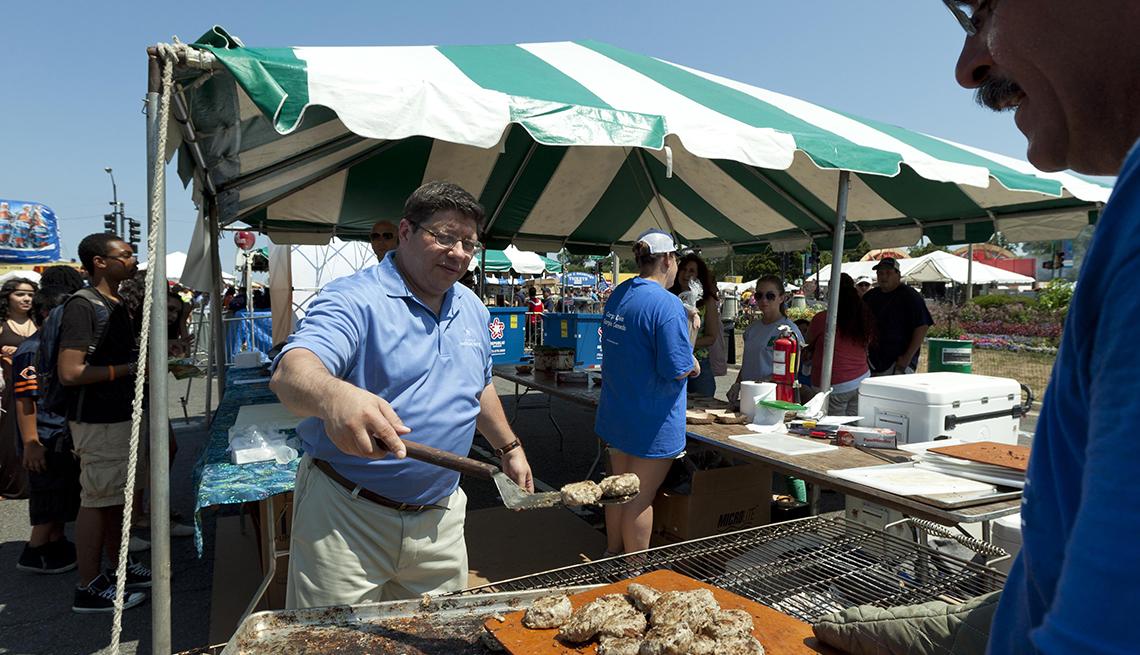 Festival culinario en Chicago