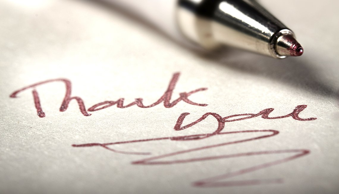 Thank You Note With Pen, How To Be A Perfect Houseguest